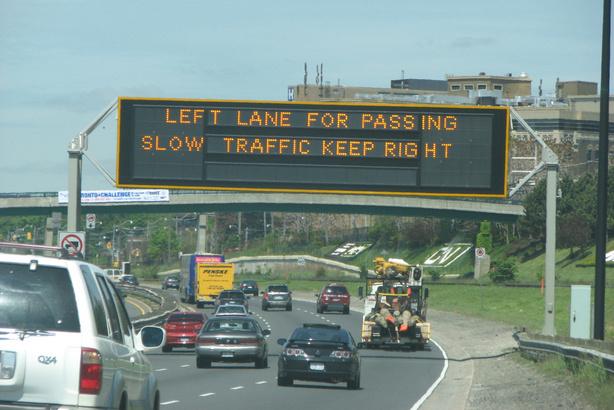 slow left lane drivers meme